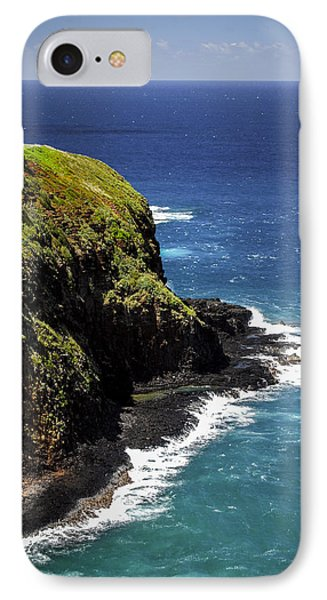 IPhone Case featuring the photograph Lighthouse By The Pacific by Debbie Karnes