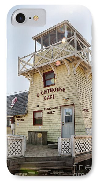 Lighthouse Cafe In North Rustico IPhone Case by Elena Elisseeva