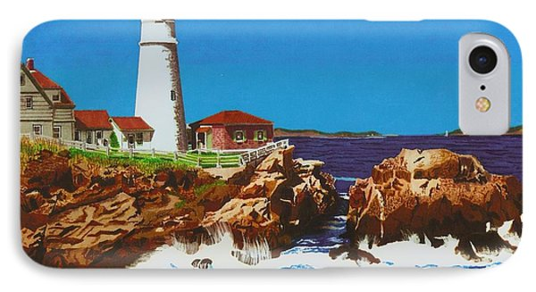 Lighthouse IPhone Case by Cory Still