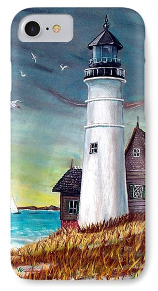 Lighthouse IPhone Case by Debbie Baker
