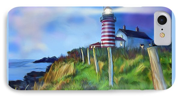 Lighthouse Phone Case by Gerry Robins
