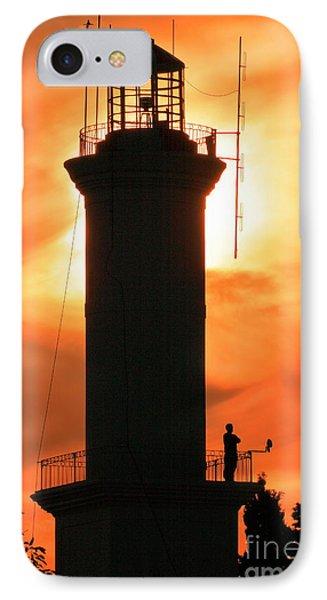 IPhone Case featuring the photograph Lighthouse I by Bernardo Galmarini