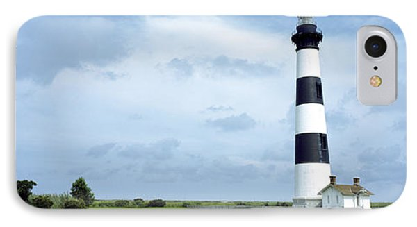 Lighthouse In A Field, Bodie Island IPhone Case