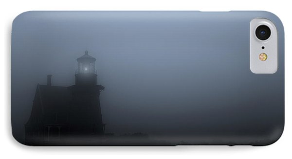 Lighthouse In Fog IPhone Case