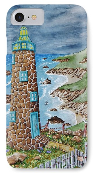 Lighthouse Phone Case by Katherine Young-Beck