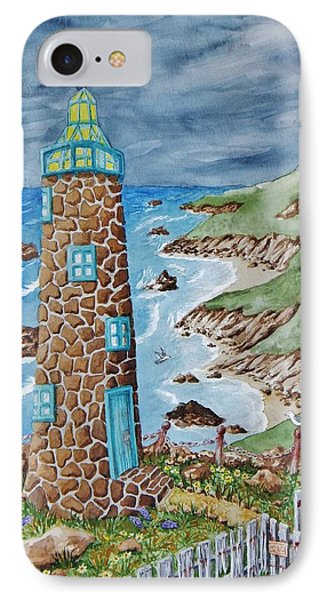 Lighthouse IPhone Case by Katherine Young-Beck