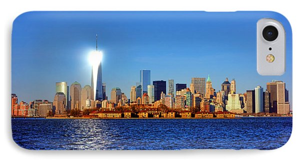 Lighthouse Manhattan Phone Case by Olivier Le Queinec