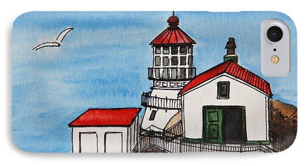 Lighthouse Phone Case by Masha Batkova