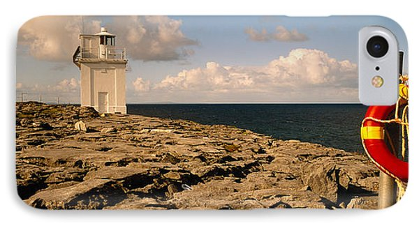 Lighthouse On A Landscape, Blackhead IPhone Case by Panoramic Images