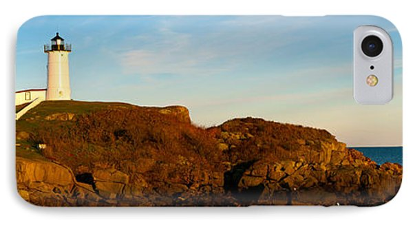 Lighthouse On The Coast, Cape Neddick IPhone Case by Panoramic Images