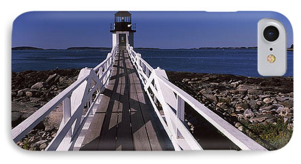 Lighthouse On The Coast, Marshall Point IPhone Case