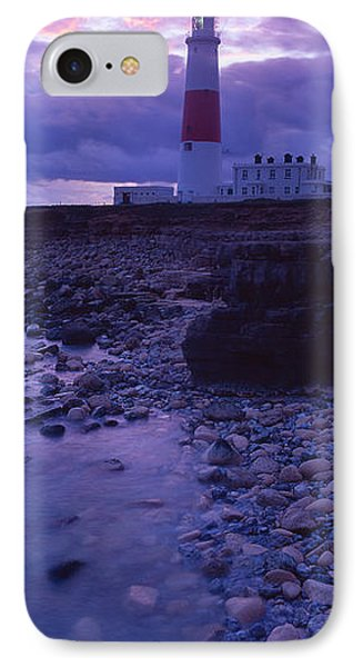 Lighthouse On The Coast, Portland Bill IPhone Case