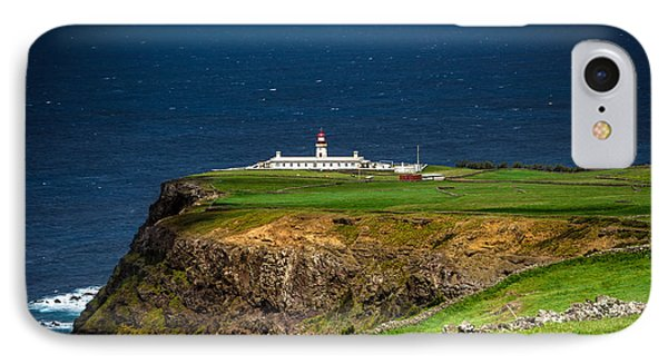 Lighthouse Ponta Do Albernaz IPhone Case by Edgar Laureano