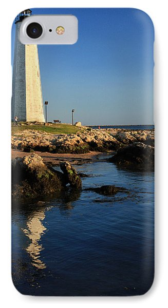 Lighthouse Reflected Phone Case by Karol Livote
