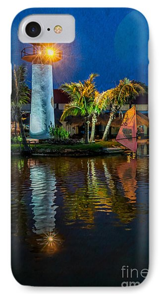 Lighthouse Reflection Phone Case by Adrian Evans