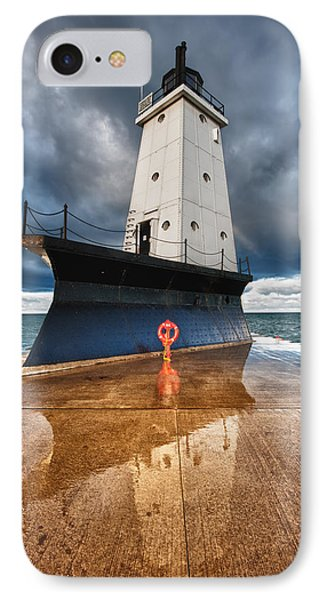 Lighthouse Reflection IPhone Case by Sebastian Musial