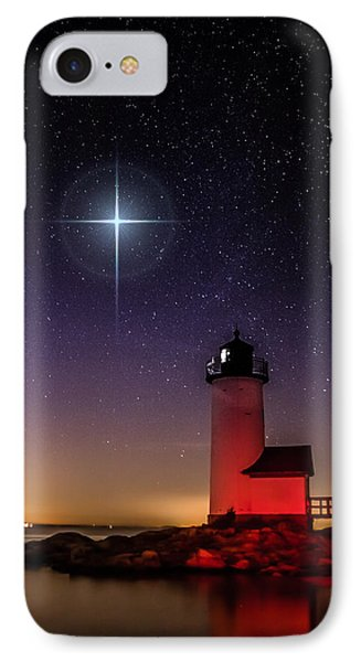 IPhone Case featuring the photograph Lighthouse Star To Wish On by Jeff Folger