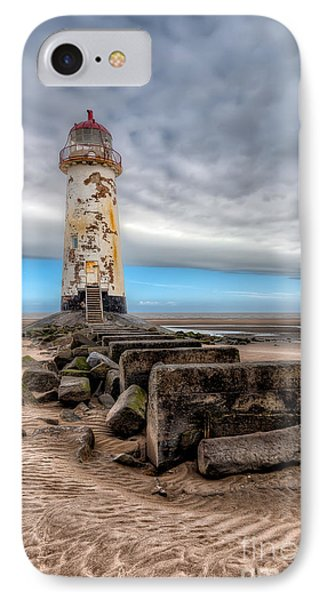 Lighthouse Steps Phone Case by Adrian Evans