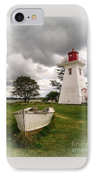 Lighthouse Victoria By The Sea Pei Phone Case by Edward Fielding