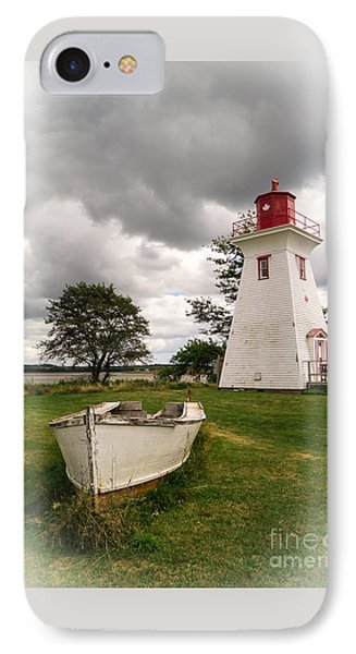Lighthouse Victoria By The Sea Pei IPhone Case by Edward Fielding