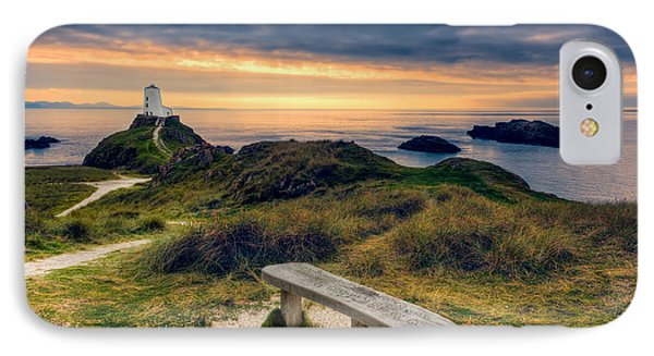 Lighthouse View IPhone Case by Adrian Evans
