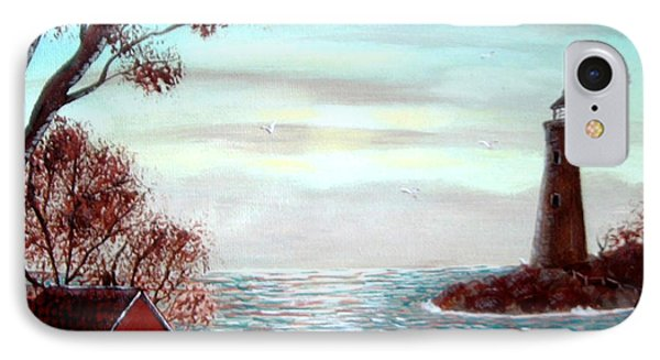 Lighthousekeepers Home Phone Case by Barbara Griffin