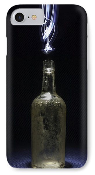 IPhone Case featuring the photograph Lighting By The Quart - Light Painting by Steven Milner