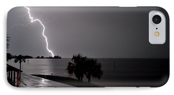 Lightning 1 IPhone Case by Richard Zentner