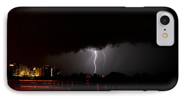 Lightning 10 IPhone Case by Richard Zentner