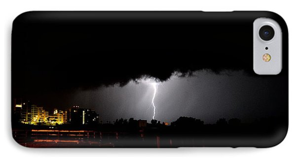 Lightning 11 IPhone Case by Richard Zentner