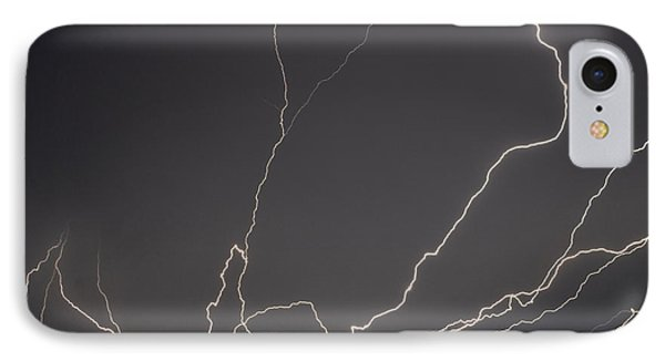 Lightning 6a IPhone Case by Maggy Marsh