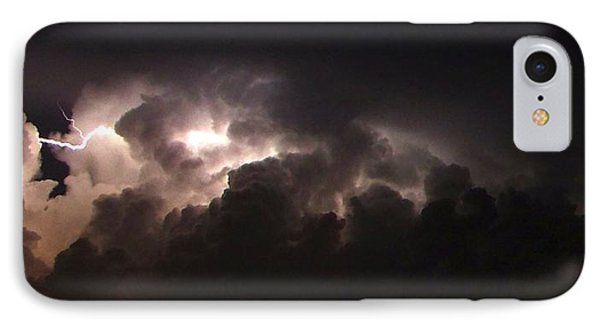 Lightning 7 IPhone Case by Richard Zentner