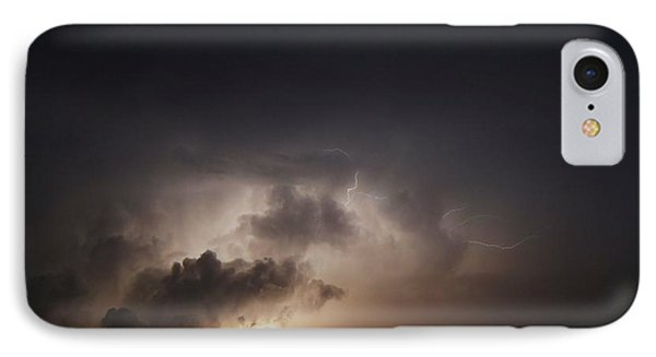 Lightning 8 IPhone Case by Richard Zentner