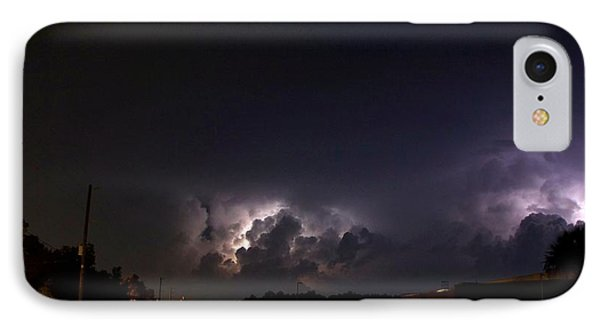 Lightning 9 IPhone Case by Richard Zentner