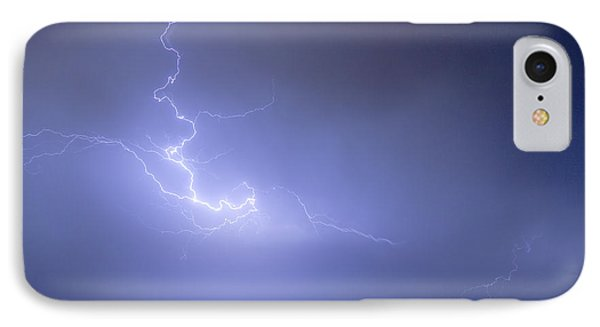 Lightning Goes Boom In The Middle Of The Night Phone Case by James BO  Insogna