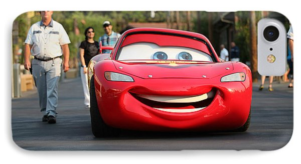 IPhone Case featuring the photograph Lightning Mcqueen by Michael Albright