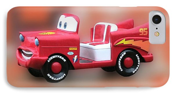 Lightning Mcqueen Phone Case by Thomas Woolworth