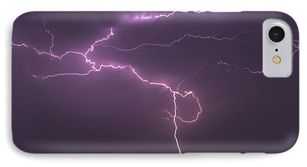 IPhone Case featuring the photograph Lightning by Rob Graham