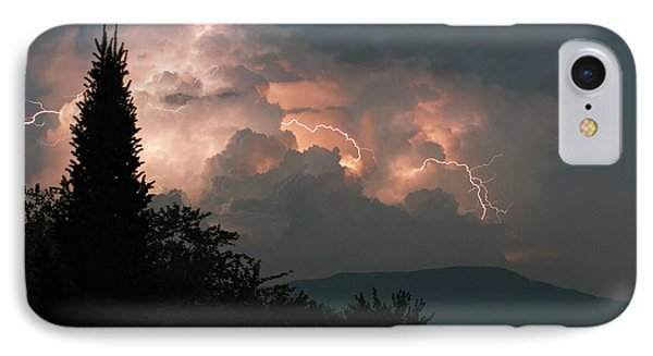 Lightning Storm Over Vermont IPhone Case