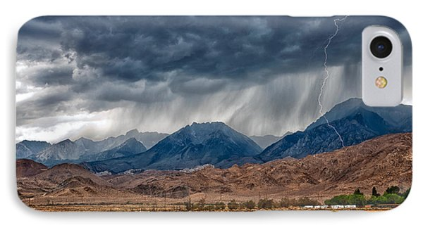Lightning Strike IPhone Case by Cat Connor