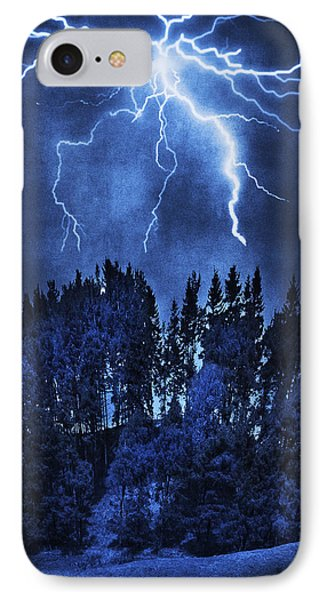 Lightning Phone Case by Svetlana Sewell
