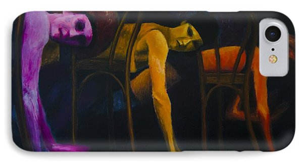 Lights Center Stage IPhone Case by Ron Richard Baviello