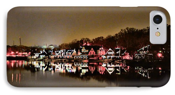Lights On The Schuylkill River Phone Case by Bill Cannon