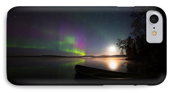 Lights Over Lapland IPhone Case