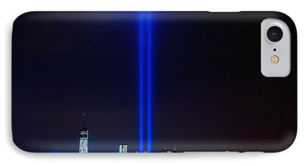 Lights Over Nyc IPhone Case by Nick Zelinsky