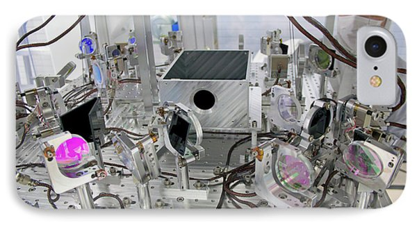 Ligo Gravitational Wave Detector Optics IPhone Case by Caltech/mit/ligo Lab