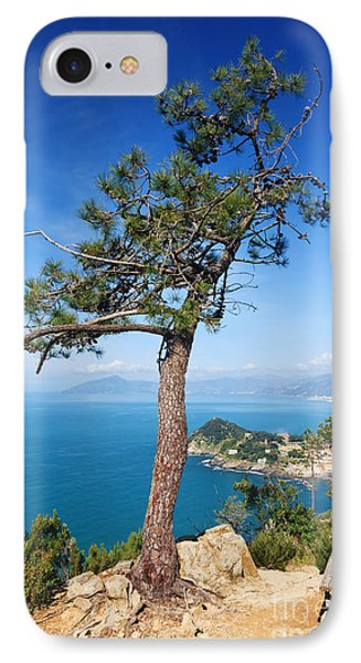 IPhone Case featuring the photograph Liguria - Tigullio Gulf by Antonio Scarpi