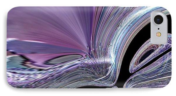 Like A Drop In The Splash IPhone Case by Jeff Swan