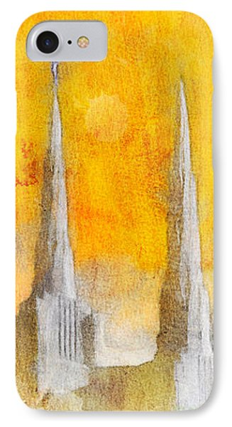 Like A Fire Is Burning - Panoramic IPhone Case by Greg Collins