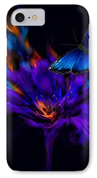 Like A Moth To A Flame IPhone Case
